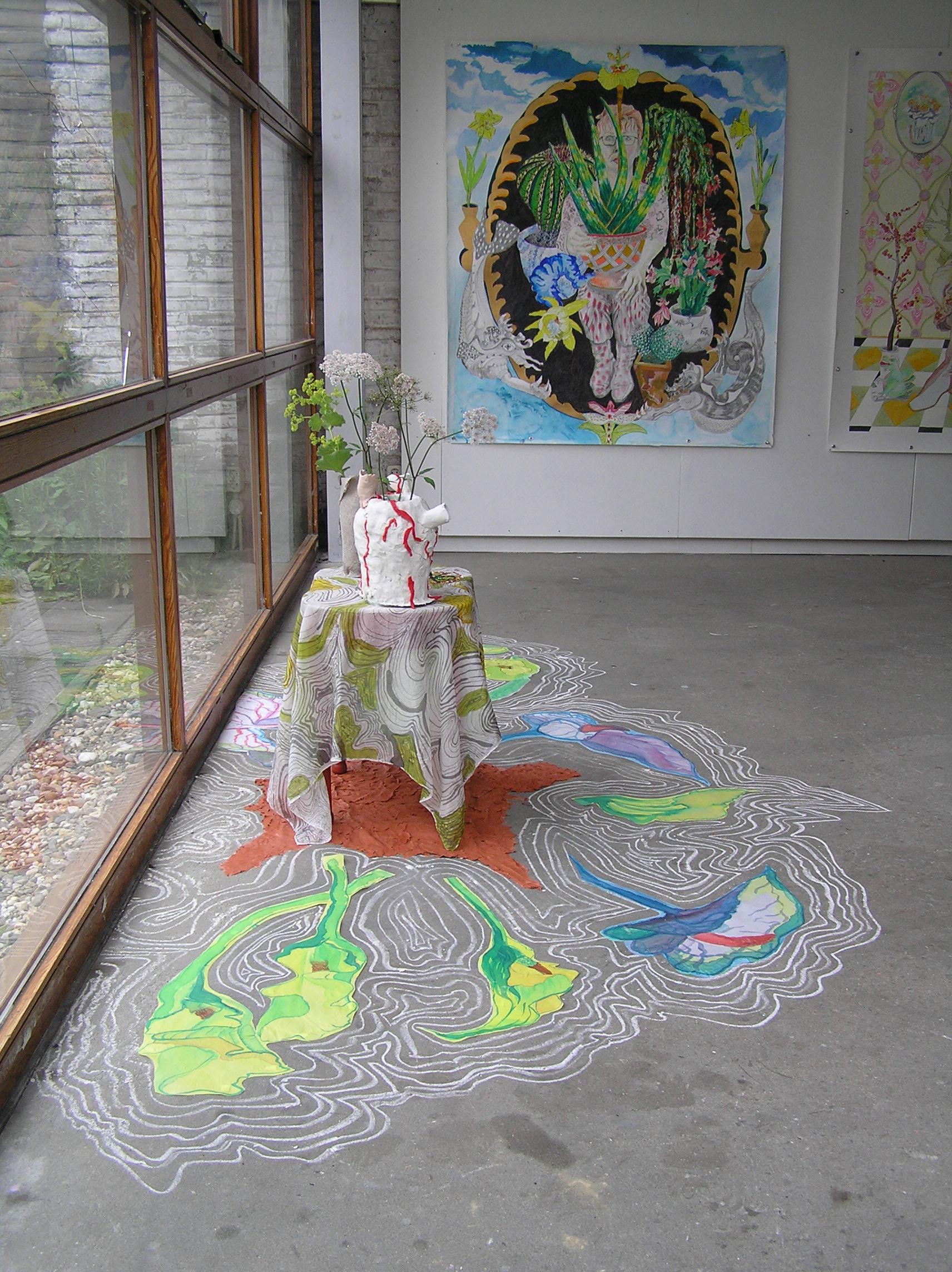 expositie in Kunsthuis SYB, Beetsterzwaag
