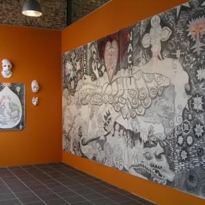 De tentoonstelling is te bezichtigen van ma - vrij van 10 tot 16 uur en za van 11 tot 15 uur.  Willemsoord 52a Den Helder
